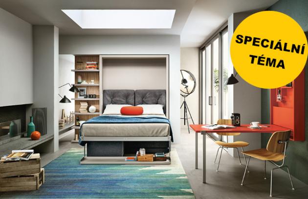 Velké ambice malého bytu: maximální komfort