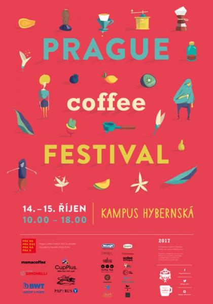 Pozvánka na 6. ročník Prague Coffee Festivalu