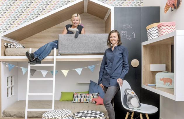 designérky Martina a Andrea