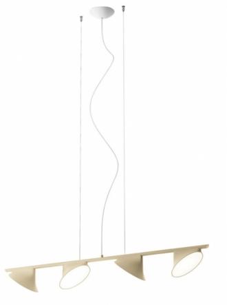 Orchid, hliník, šířka 133,5 cm, O 20 cm, design Rainer Mutsch, Axo light, cena od 31 218 Kč, www.cskarlin.cz