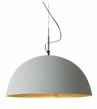 Mezza Luna Cemento, O 70 a 120 cm, In-es artdesign, cena 25 276 Kč, www.vladanbehaldesign.cz