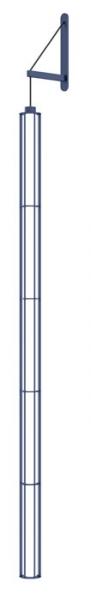Verticale, sklo a lakovaný hliník, design Ronan a Erwan Bouroullecovi, Flos, cena zatím nebyla stanovena, www.bulb.cz