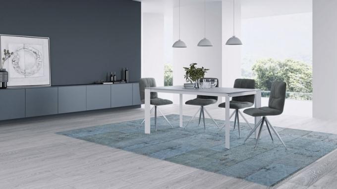Ručně vyráběný moderní vintage koberec Undi, 100% bavlna, 200 x 300 cm, Miotto Design, cena 13 226 Kč, www.miotto-design.com