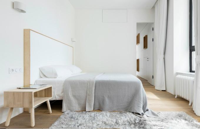Minimalistický apartmán s výhledem v Moskvě