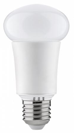 LED žárovka umožňující nastavení až 16 milionů barev, ovládání pomocí aplikace přes Bluetooth, funkce Light alarm clock rozsvítí světlo ve stejný okamžik, kdy začne zvonit budík, hudební mód spustí světelné efekty v rytmu přehrávané melodie, Paulmann, cena 1 595 Kč, www.aulix.cz