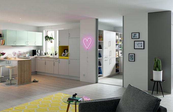 Schüller: koncept víceúčelové místnosti