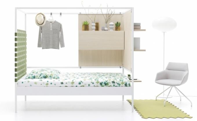 Kolekce dětských a studentských postelí NOOK