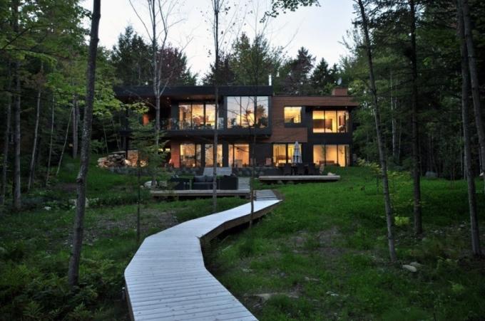 Klidné útočiště uprostřed kanadské přírody