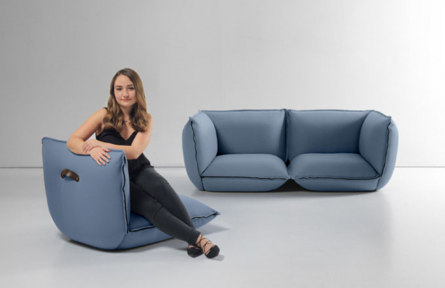 Sadací nábytek, který vás může zazipovat