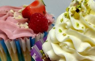 Pastelový pomocník pro přípravu cupcaků