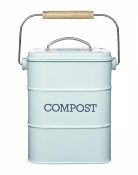 Nádoba na bioodpad Living Nostalgia, uhlíkový filtr zachycující pach, objem 3 l, kov, Kitchen Craft, cena 549 Kč, www.bonami.cz