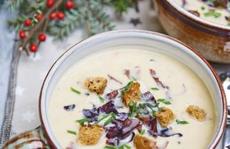 Vánoční polévka podle šéfkuchaře Petra Klímy