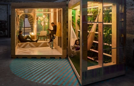 MINI Living Urban Cabin v New Yorku