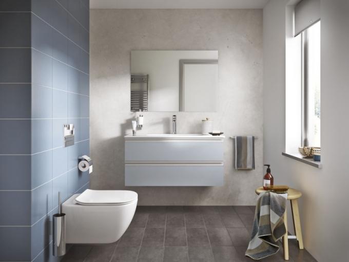 Nová řada Tesi navržená britským designérem Robinem Levienem nabízí kompaktní designový koncept koupelnové keramiky, nábytku i vodovodních baterií