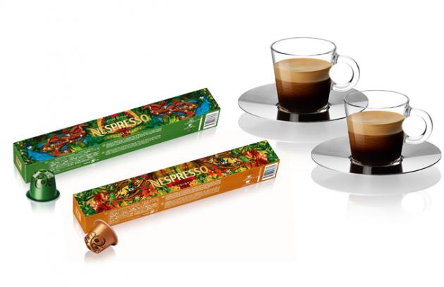 Nespresso uvádí na trh dvě Limitované Edice kávy, které jsou poctou zemím, ze kterých kávovníky pochází