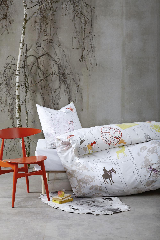 Povlečení z kolekce Boxes, Susanne Schjerning, www.rikkitikkishop.com