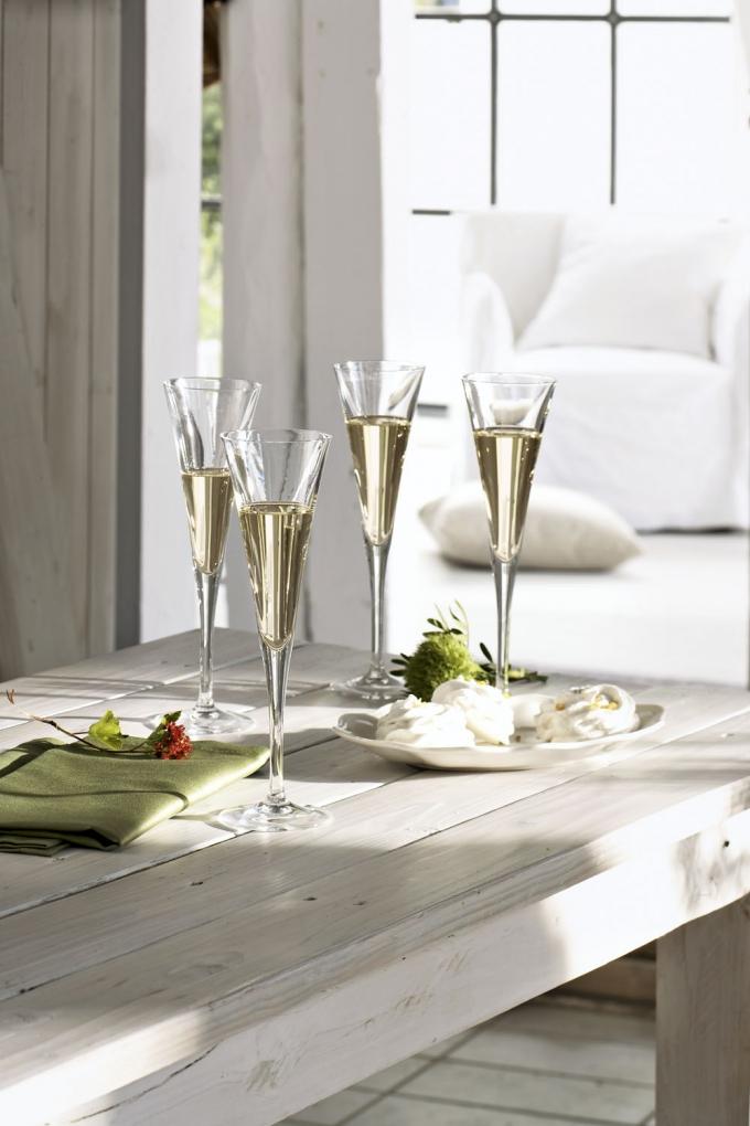 Sklenice na sekt Allegorie Champagne, objem 300 ml, Villeroy a Boch, cena 610 Kč, www.luxurytable.cz