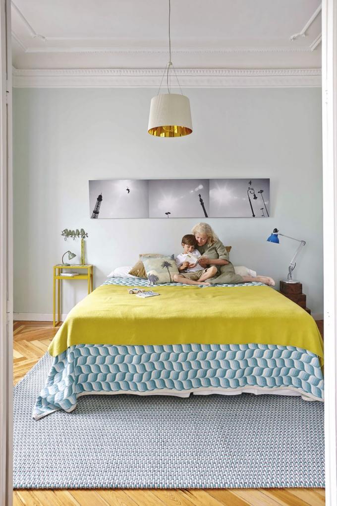 Ručně tkaný koberec Naga z plstěných pásků, rozměry 170 x 240 cm a 200 x 300 cm, Gan, cena od 25 960 Kč, www.onespace.cz