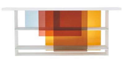 Komoda Layers, sklo, šířka 160 nebo 200 cm, Nendo, Glas Italia, cena 112 600 Kč, www.glasitalia.com