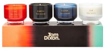 Kolekce Elements je inspirovaná živly a zahrnuje čtyři kombinace vůní: květinovou, dřevitou, svěží a orientální, Tom Dixon, cena na dotaz, www.bulb.cz