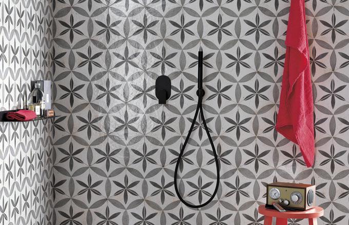 Dekor Hexagon Déco ze série Heritage antico, FAP, www.fapceramiche.cz