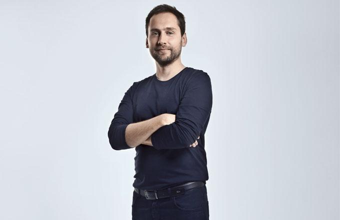 Designér Kryštof Nosál: muž v koupelně