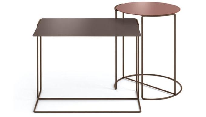 Odkládací stolky v řádu geometrie