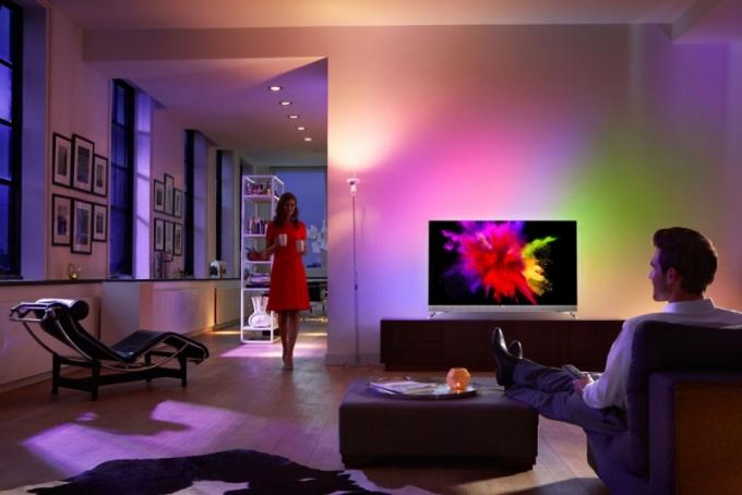 Televizor OLED 901 F Ultra HD 4K, operační systém Android, úhlopříčka 139 cm, Philips, doporučená cena 88 990 Kč, www.philips.cz