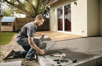 Jak položit terasové desky?