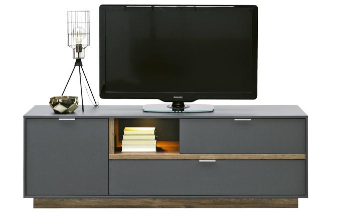 Televizní stolek My Ell má 1 polici a 3 zásuvky, provedení dekor dub, 176 x 59 x 43 cm, cena 7 999 Kč, www.kika.cz