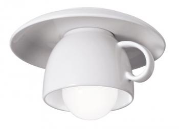 Dekorativní stropní svítidlo Cappuccino, výběr z několika barevných provedení, 15 x 11 cm, Vesoi, cena 4 350 Kč, www.puntodesign.cz
