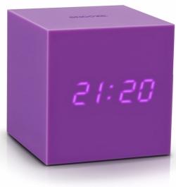 LED budík Gravitry Cube, 7,5 x 7,5 x 7,5 cm, Gingko, cena 999 Kč, www.bonami.cz