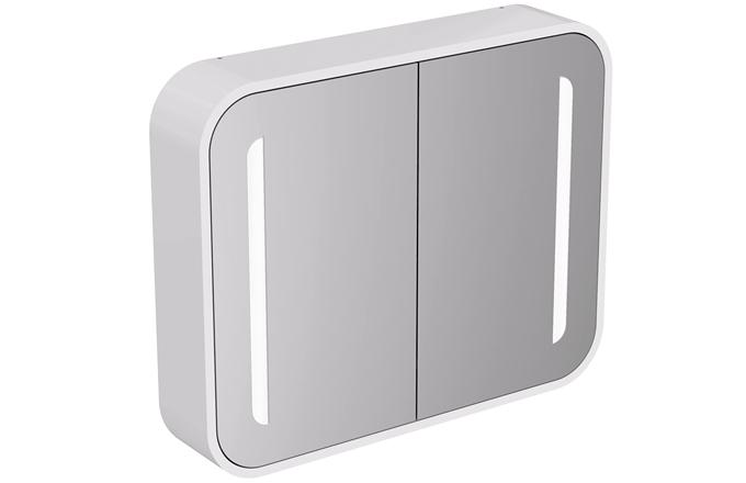 Zrcadlová skříňka ze série Dea, LED osvětlení po stranách, šířka 60, 80 a 100 cm, cena k doptání, www.idealstandard.cz
