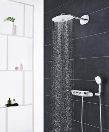 Kombinovaný sprchový systém s termostatem Rainshower System SmartControl 360 DUO, nástěnný/podmítkový, www.grohe.cz