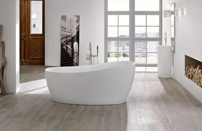 Akrylátová vana Relax, hladký povrch bez viditelných spojů, 180 x 85 cm, Knef, cena 83 442 Kč, www.designbath.cz