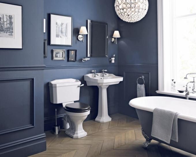Retro kombi WC s nádržkou Granley, tvrzené sedátko se Soft-Close, Heritage, cena za komplet 19 097 Kč, www.koupelny-ptacek.cz
