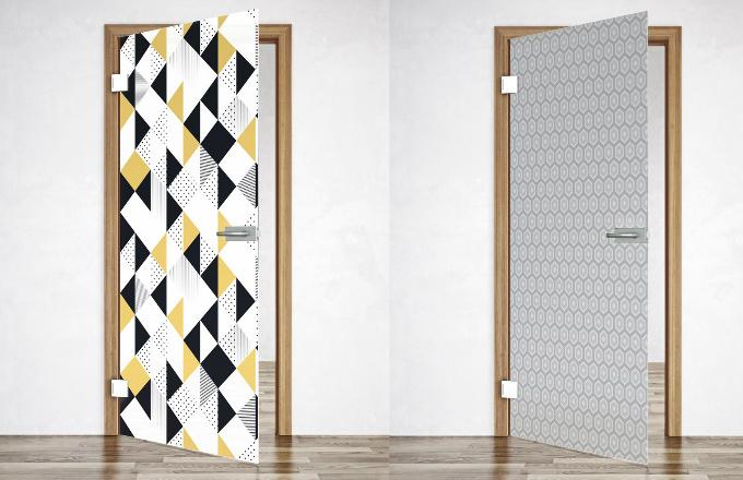 Nové celoskleněné dveře SAPGLASS v retro designu