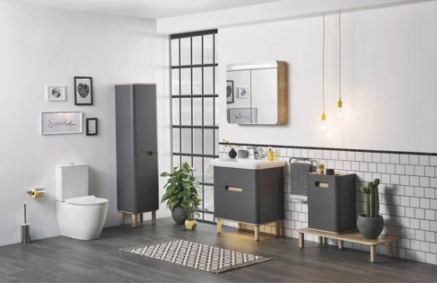Kombinovaný klozet Vitra Sento, bezokruhový oplach Rim-ex, přiléhá ke zdi, 65 cm, žádné záhyby pro čištění, skryté připojení, design Eczacibaşi Design Team, Vitra, cena 13 721 Kč, WWW. KOUPELNY-PTACEK. CZ