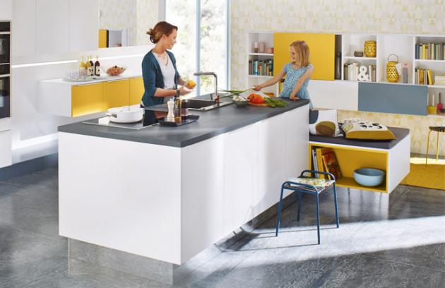 Uspořádání kuchyně podle abecedy