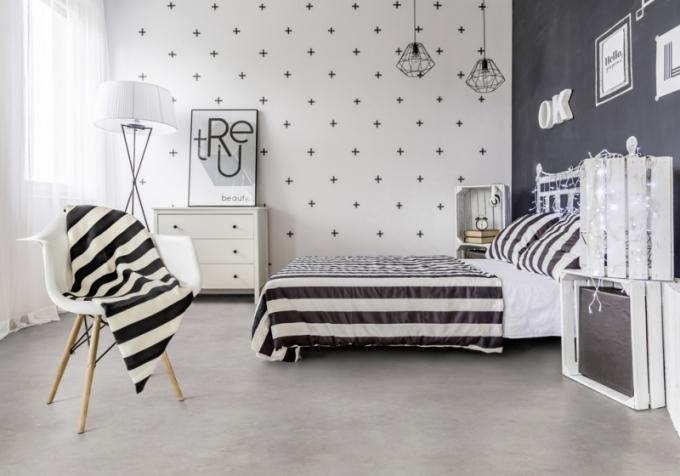 GERFLOR Home Comfort nový dekor 2018 LEONE GREY světlá