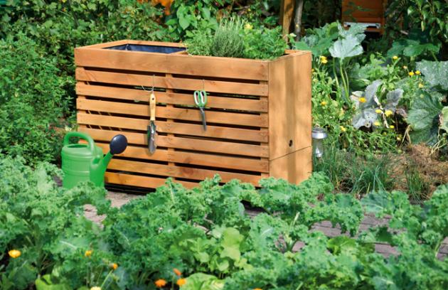 Vyvýšený zahradní záhon (Foto: Hornbach)