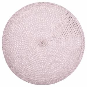 Prostírání Juri, růžové, polypropylen, O 38 cm, cena 175 Kč