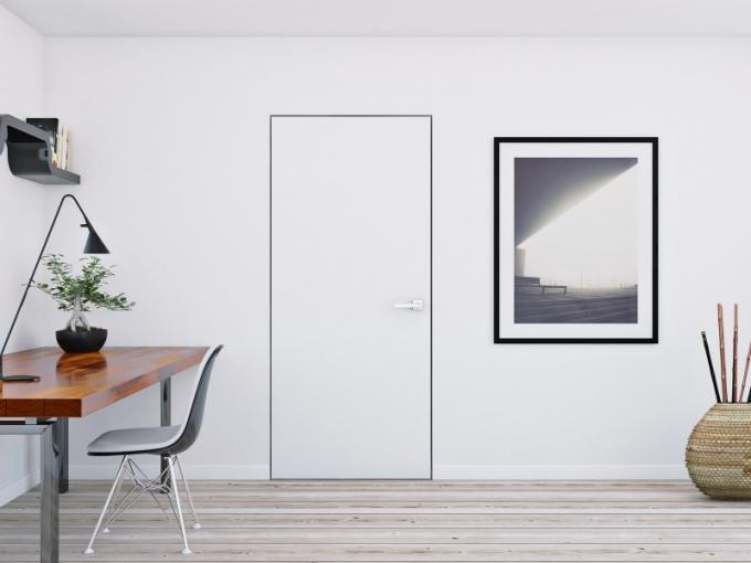 Dveře Naturel se skrytou zárubní v jedné rovině se stěnou, barevně sladěné, neruší celkový dojem, Siko, cena od 10 488 Kč, WWW. SIKO. CZ/DVERE