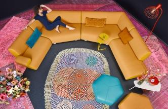 Pohovka Guadalupe, jednotlivé moduly lze skládat do různých variací včetně rohové, design Christian Werner, Leolux, cena od 259 980 Kč, WWW. SEDLAKINTERIER. CZ, WWW. POGGENPOHL. CZ
