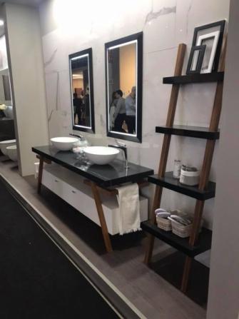 Obrazem: Milánský veletrh designu 2018 - koupelny