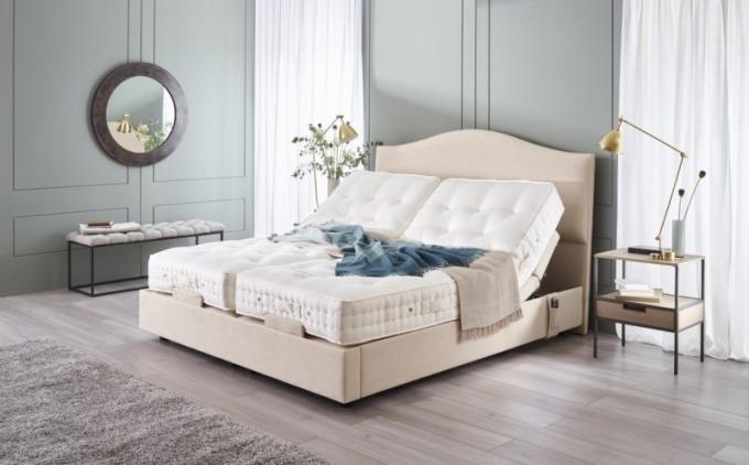 Novinka od Dreambeds: polohovací postel Vispring