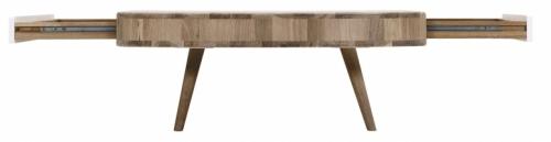 Vytvořit moderní design, v nadčasové úpravě s přidanou hodnotou - cíl designéra Saliha Teskeredžiće ve spolupráci s výrobcem Gazzda, odolné dubové dřevo a bílá MDF, cena 14 024 Kč, WWW. LINO. CZ