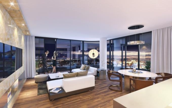 Rezidence Churchill nabízí 57 exkluzivních bytů v dispozicích 1 + kk až 5 + kk s výhledem na pražské panorama a siluetu Hradčan v příjemném prostředí Vinohrad. Projekt je dílem architektonického ateliéru Aukett a výjimečný je nejen lokalitou, ale také svou kvalitou. Elegantní budova zaoblených tvarů s provětrávanou fasádou a vnějším kamenným obkladem má 7 nadzemních podlaží a tři podzemní podlaží, kde jsou umístěné sklepy a garáže. Vysoký standard je samozřejmostí také v interiérech, byty jsou připravené na instalaci smart home technologií a ve všech bytech je dotykový videopanel komunikující se vstupy a recepcí, která bude v provozu 24/7/365 a bude nabízet concierge služby. Do objektu se vchází přes velkorysé lobby, WWW. REZIDENCE-CHURCHILL. CZ
