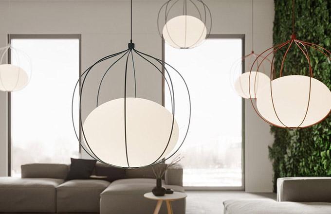 Světlo v kleci jako efektní doplněk interiéru