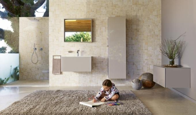 Luxusní koupelnový nábytek Plan od Keuco, umyvadlová skříňka, šířka 64 cm, cena 29 340 Kč, www.koupelny-ptacek.cz